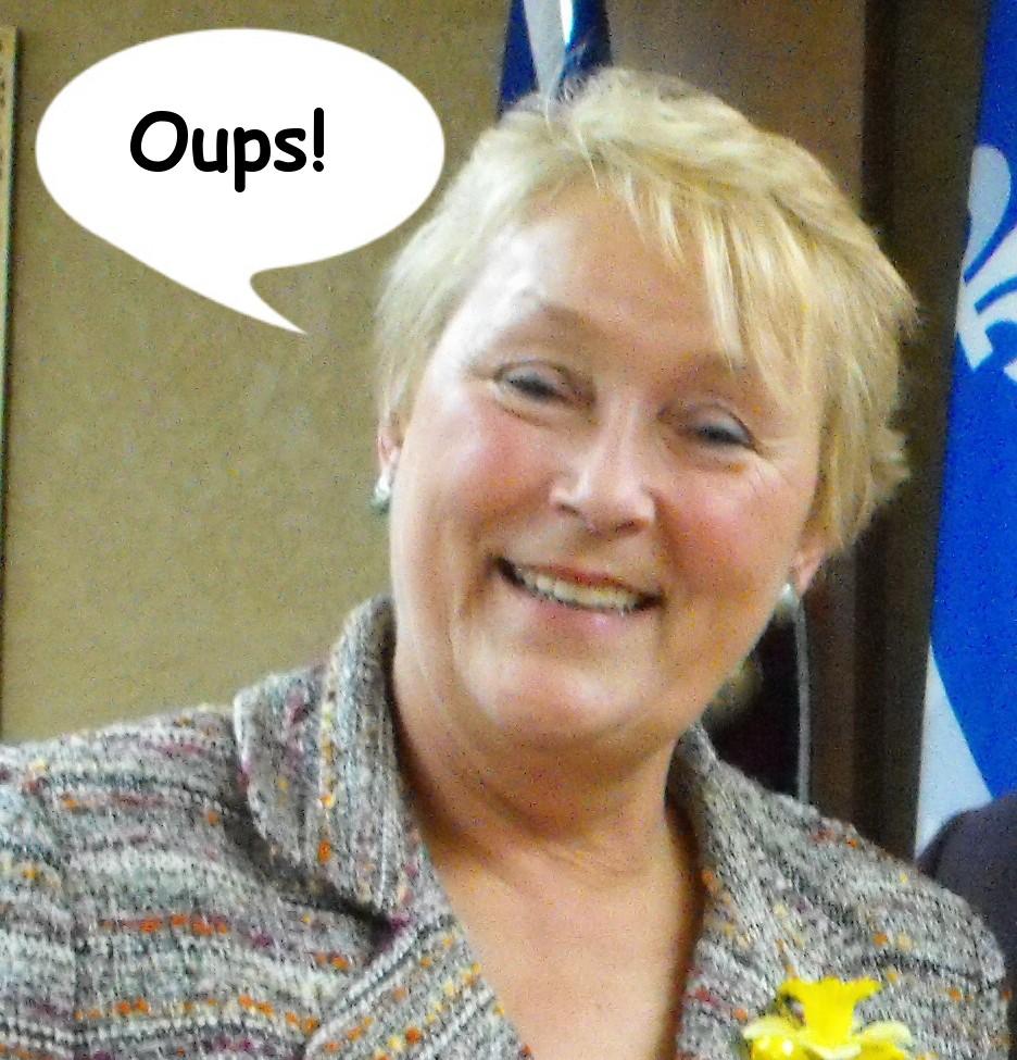 Quebec PQ Premier Pauline Marois