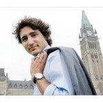 If things don't work our for Justin Trudeau in politics, he definitely has the look to become a male fashion model -  photo: Vancouver Sun