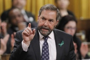 Thomas Mulcair - Canada's perpetually angry Mr. Fix-it