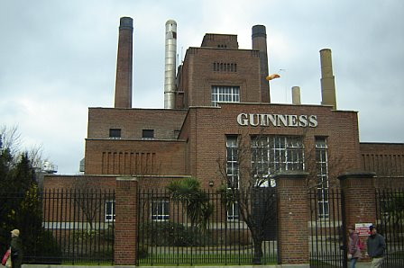 The Guinness Brewery or as Irish around the world call it - Mecca