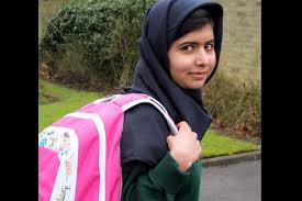 Malala Yousafzai - Just another raghead who was shot by terrorists because she wanted to go to school.