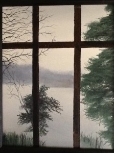 The Lake Through My Window