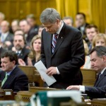PM Stephen Harper: Photo by Sean Kilpatrick/The Canadian Press